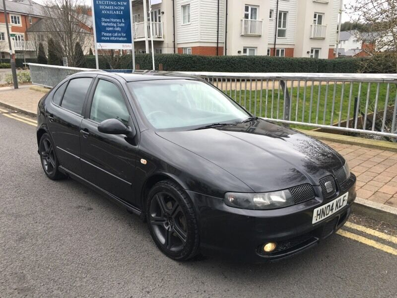 2004 04 seat leon 1 9 tdi cupra fr 180 bhp remapped tints full history in high wycombe. Black Bedroom Furniture Sets. Home Design Ideas