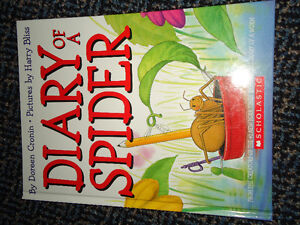 Diary of a Spider HARDCOVER book and DVD Set!!! Kingston Kingston Area image 4