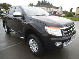 2015 FORD RANGER 2.2 TDCI 150 MAN LIMITED D/CAB**LEATHER** BUY FROM £85 P/W **
