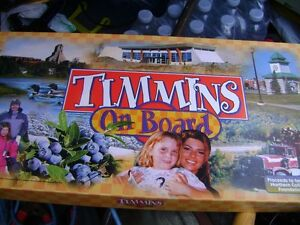 TOWN OF TIMMINS BOARD GAME