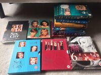Friends and Sex in the City DVDs