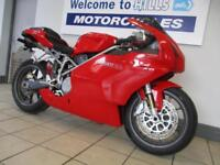 DUCATI 749 S LIGHT DAMAGE REPAIR RUNNING PROJECT LOW MILES CAT D