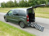 2014 Peugeot Partner Tepee S 1.6 Hdi 5 Seats WHEELCHAIR DISABLED ACCESSIBLE WAV