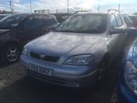 1999 2.0 Diesel Vauxhall Astra Estate. Breaking for parts only. Postage nationwide