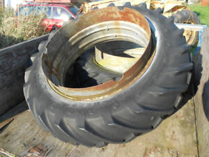 Tractor Duals / Tires Goodyear 15.5 - 38