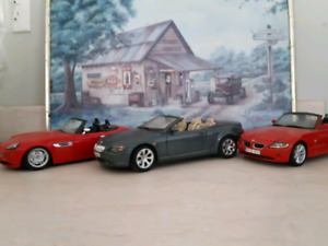 3 bmw 1 18 scale diecast cars