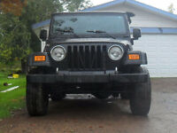 Winter Ready 06 Jeep TJ Convertible 4x4