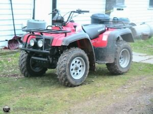 Wanted: Plastics/Fenders for 2002 Suzuki Quad Runner 500