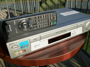 Sony VCR with Remote Control