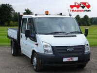 2014 FORD TRANSIT 2.2 TDCI 350 125ps Long Wheel Base Double Cab Tipper DIESEL