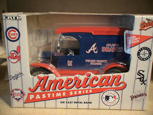 Atlanta Braves 2nd series diecast by Libert (bank) Belleville Belleville Area image 1