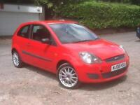 Ford Fiesta 1.4TDCi 2007 diesel £30 tax Style red