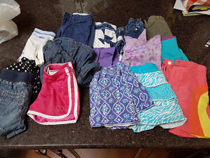 Girl's Bottoms - Shorts and Skirts - Size 6 Years - 16 Pieces