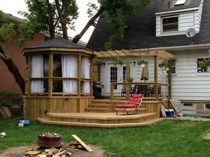 Fences, decks and gazebos Sarnia Sarnia Area image 1