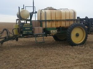 Spray-Air Trident Boom 90' High Clearance sprayer