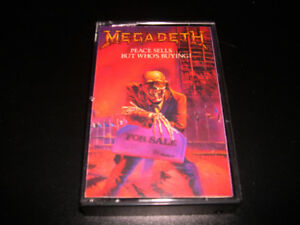 Megadeth - Peace sells ..but .... (1986) 4 pistes Heavy Metal