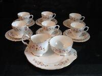 Bone china full tea set