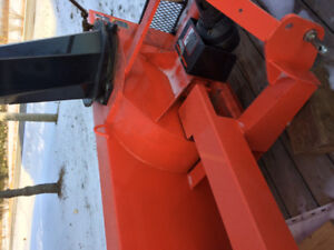 Kubota 74 in snowblower for a tractor