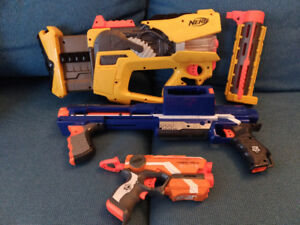 NERF Assorted Toy Guns
