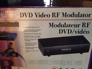 Radio Shack RF Modulator New Old Stock