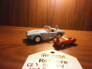 2 Shelby Cobra's Model Cars -Silent Auction- Goderich ReStore