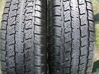 TWO--- 175\ 80\ 13in. TRAILER TIRES
