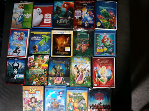Disney Blu rays and DVDs.  Great selection.