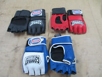 Combat sports cage style gloves