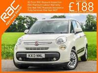 2013 Fiat 500L 1.3 Multijet Turbo Diesel Lounge Auto MPV Pan Roof Bluetooth Clim