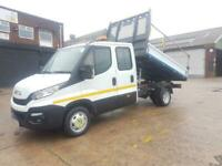 2016 66 IVECO DAILY 35 C 13 DROPSIDE TIPPER DOUBLE CAB / CREW CAB 130 TDI 6 SPEE