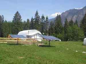 Off Grid Solar Powered Shop and Acreage