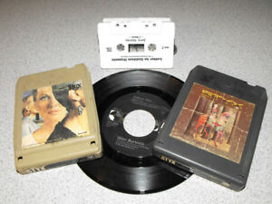 Looking for Cassettes records & 8 Track collection's