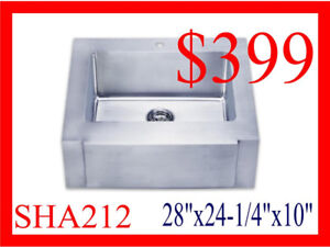 Stainless Steel 16 Gauge Sinks Blow Out Super Deal!!!