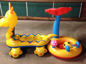 Ride-on floating toys