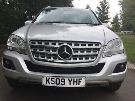 Mercedes M Class ML 320 CDI SPORT Good / Bad Credit Car Finance (silver) 2009