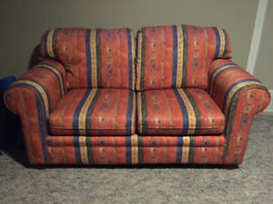 Comfortable & Durable couch/love seat combo.