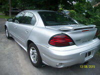 2004 PONTIAC GRAND AM AUTOMATIC A1 131000KM 4CYL  A/C 1850$