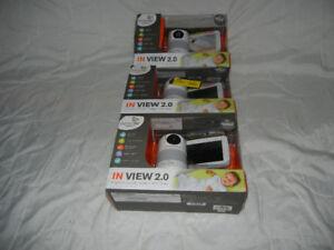Lecteur DVD TV portatif.Caméra moniteur vidéo surveillance bébé