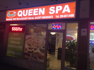 Good weekend, you need good Massage service @ Queen Spa: $49.95