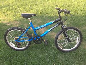 "Mongoose kids bike, 20"" wheels"