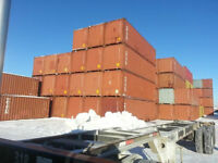 40' & 20 FT STEEL SHIPPING STORAGE CONTAINERS SEACAN