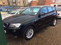 BMW X3 x drive 20 d diesel 62 Reg 1 owner fsh finance available excellent condition