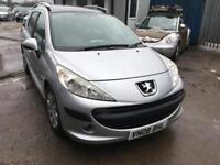 Peugeot 207 SW 1.4 ( a/c ) S, ONLY 55000 MILES APRIL 2019 MOT,PANORAMIC ROOF