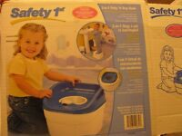 SAFETY 1ST 3 IN 1 POTTY & STEP STOOL