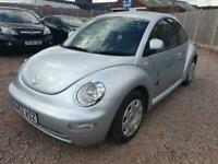 2002 Volkswagen Beetle 1.6 3dr HATCHBACK Petrol Manual