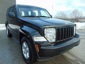 2012 JEEP LIBERTY TRAIL RATED 4X4, ONE OWNER, CLEAN CAR-PROOF!