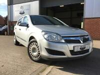 2008/08 Vauxhall Astra 1.7 CDTi Life TURBO DIESEL 5 Door Metallic Silver Air Con