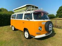 Volkswagen t2 Bay window camper 1973 with pop top