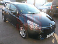 2015 Renault Clio 1.2 16v Dynamique Nav DAMAGED REPAIRABLE SALVAGE