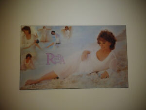 REBA McENTIRE PLAQUE MOUNTED PICTURE/COUNTRY MUSIC MNT CONDITION